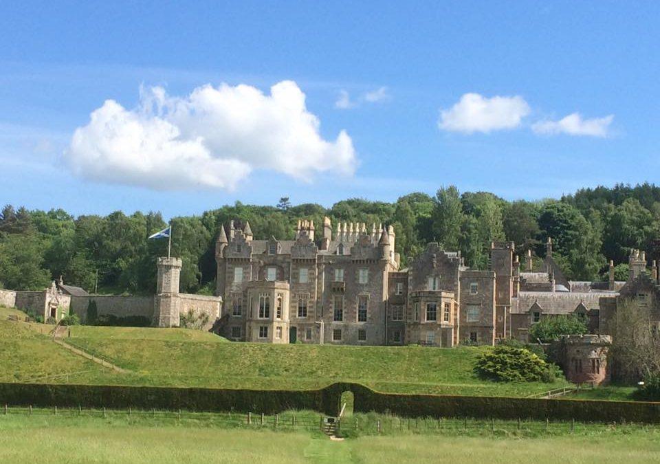 Abbotsford, home of Sir Walter Scott