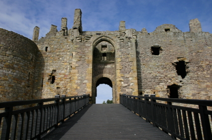 Gateway to Dirleton Castle