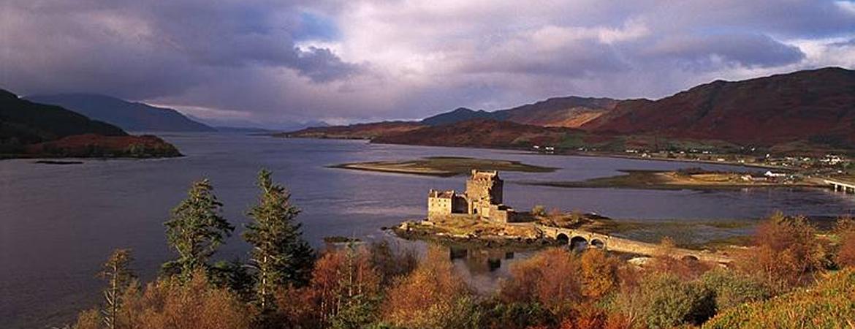 Eilean Donan Castle Scottish Highland Trails