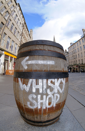 Whisky Shop Sign