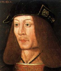 King James IV of Scotland who died at Flodden