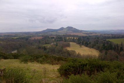 Scott's View near Dryburgh