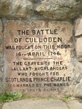Battle of Culloden Memorial Stone