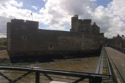 Blackness Castle, the ship that never sailed