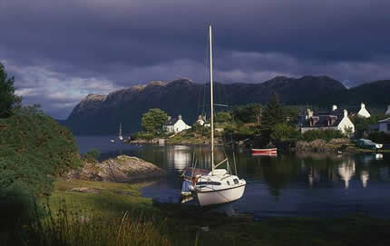 Plockton Scottish Highland Trails