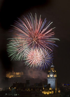 Edinburgh's New Year celebrations