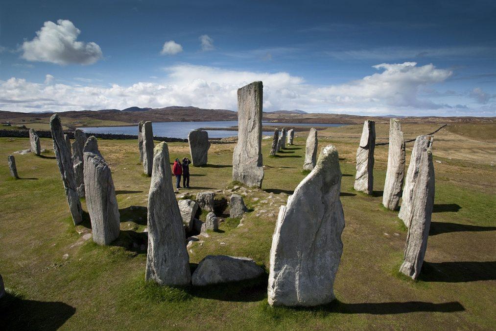 The Calanais Standing Stones