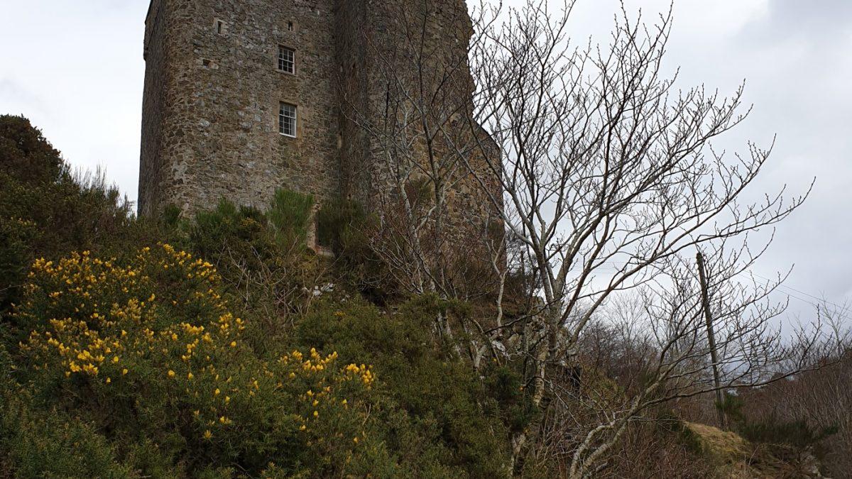 A ghostly tale of Neidpath Castle